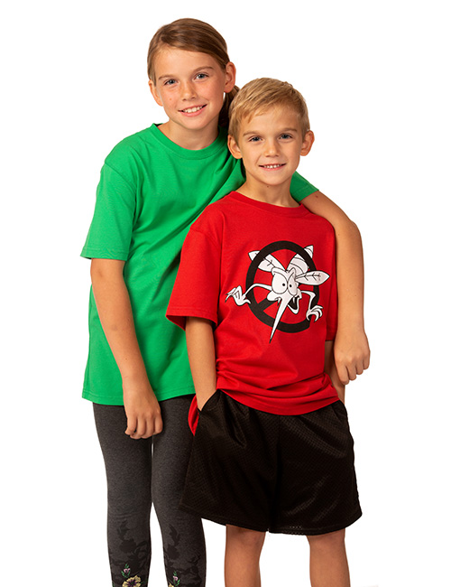 Youth Short Sleeve Dri-balance Insect Repellant Tee