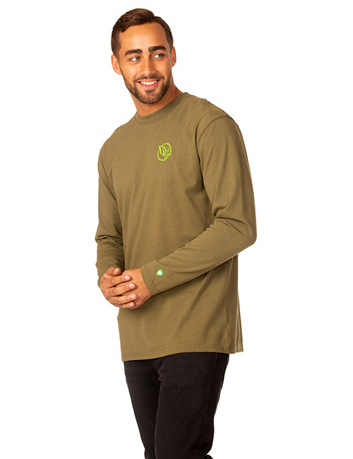 Mens Long Sleeve Dri-balance Insect Repellant Tee