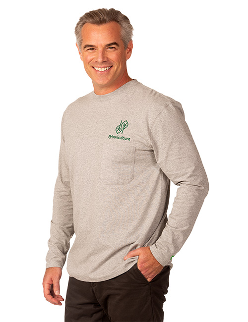 Mens Short Sleeve Dri-balance Insect Repellant Pocket Tee
