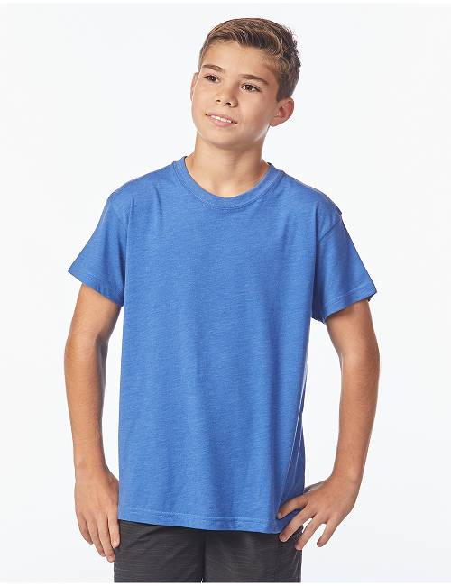 Youth Short Sleeve Tri-blend Tee