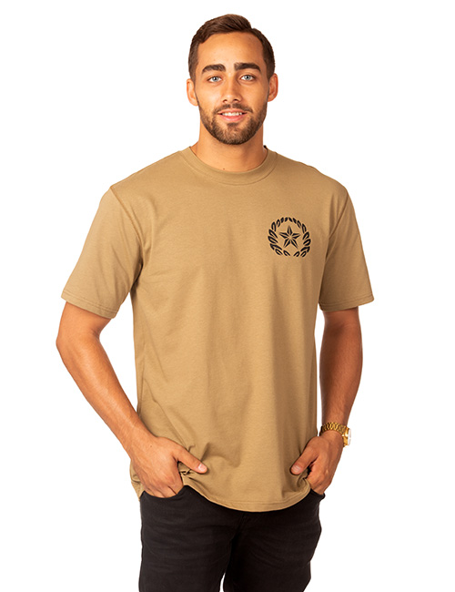 Mens Short Sleeve Dri-balance Plaited Moisture Transport Tee