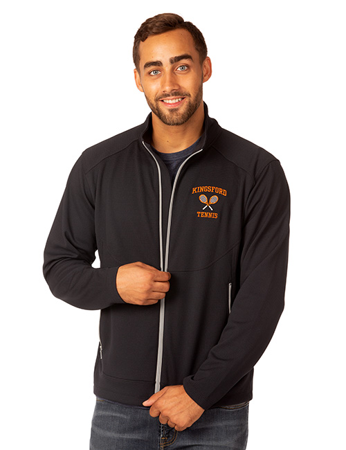 Syntrel Mens Box Knit Lightweight Jacket