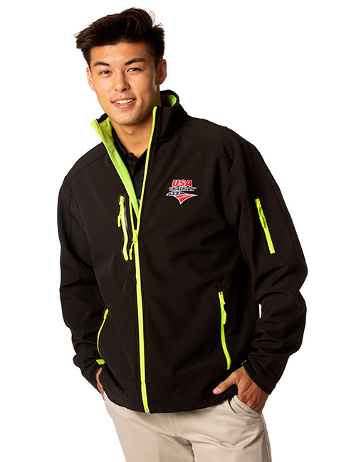 Mens Three Layer Softshell Jacket
