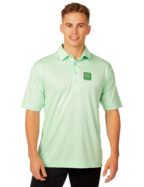 Syntrel Mens  Short Sleeve Interlock Polo