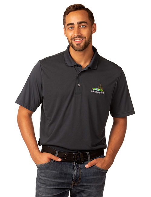 Syntrel Mens  Short Sleeve Lightweight Jersey Polo