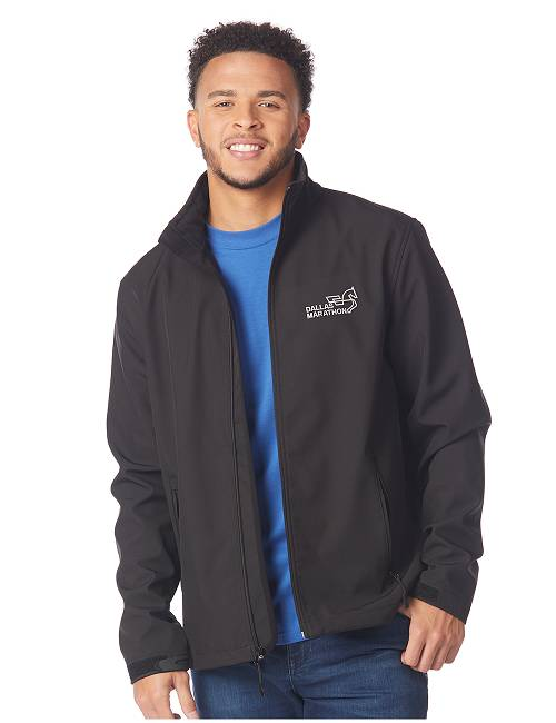 Mens Long Sleeve Soft Shell Jacket