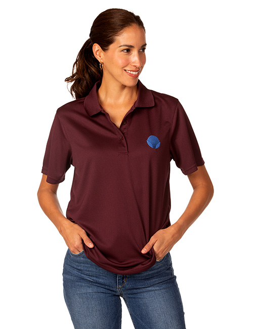 Syntrel Ladies  Short Sleeve Classic Mesh Polo