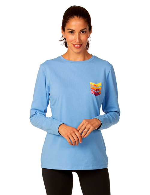 Ladies Long Sleeve Dri-balance Jersey Stretch Tee
