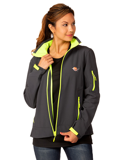 Ladies Three Layer Softshell Jacket
