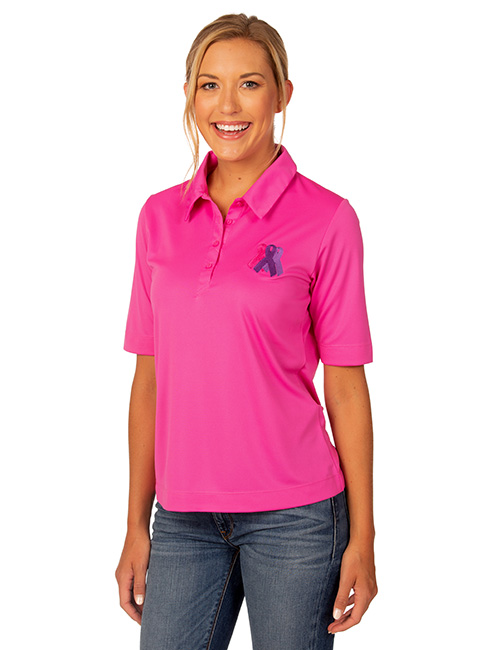 Syntrel Ladies  Short Sleeve Interlock Polo