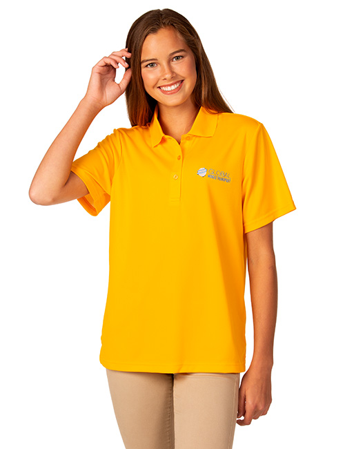 Syntrel Ladies  Short Sleeve Lightweight Mesh Polo
