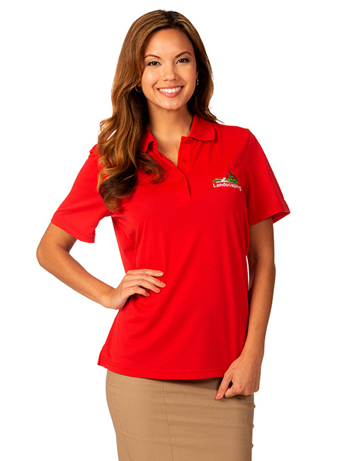 Syntrel Ladies  Short Sleeve Lightweight Jersey Polo