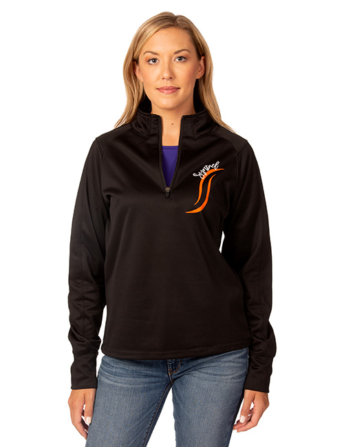 Ladies Syntrel Poly-fleece Performance 1/4 Zip