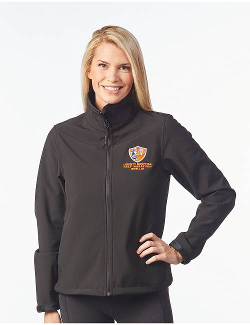 Ladies Long Sleeve Soft Shell Jacket
